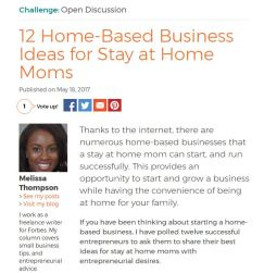 12 Home-Based Business Ideas for Stay at Home Moms TODAY