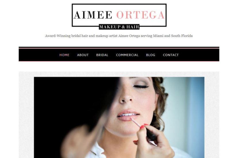 Makeup Artist Miami, Broward, Palm Beach Aimee Ortega - Google Chrome_2017-12-22_07-19-32