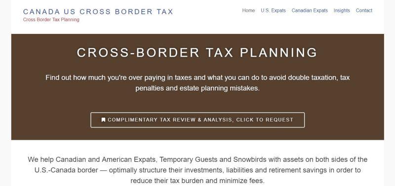 Canada US Cross Border Tax Cross Border Tax Planning - Google Chrome_2018-01-09_06-22-07